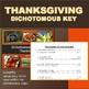 Dichotomous Key: Thanksgiving Dinner