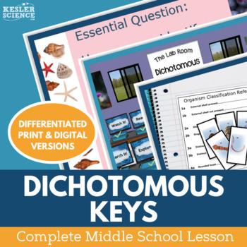 Dichotomous Keys - Supplemental Lesson - No Lab
