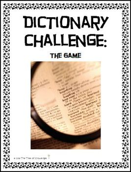 Dictionary Challenge: The Game