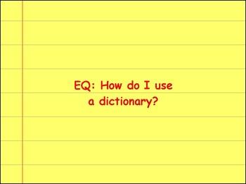 Dictionary Practice
