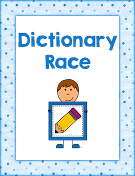 Dictionary Race