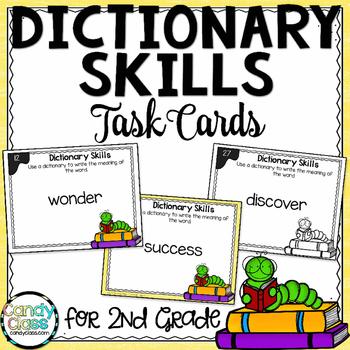 Dictionary Skill Task Cards