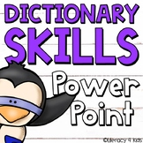 Dictionary Skills No Prep PowerPoint Activity for Grades 3