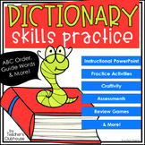 Dictionary Skills Unit from Teacher's Clubhouse