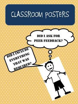 Did I Do My Best? (Classroom Posters)