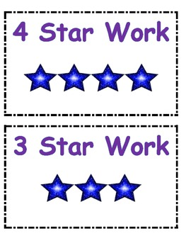 Did I do 4 Star Work?