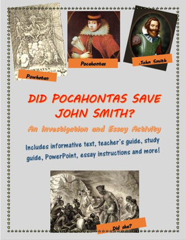 Did Pocahontas Save John Smith? An Investigation and Essay