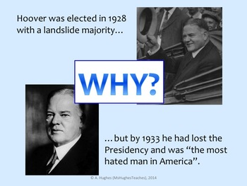 Did President Hoover deserve to be so unpopular during the