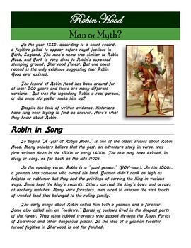 Did Robin Hood Exist? Who Was He?
