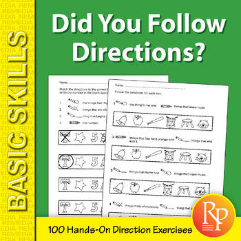 Did You Follow Directions?