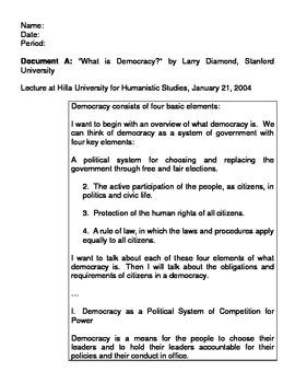 Did the Constitution Strengthen or Weaken Democracy? Discu