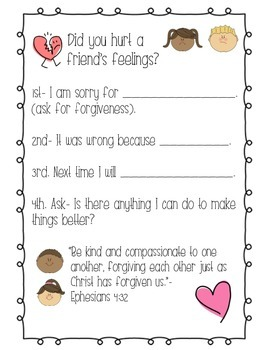 Did you hurt a friend's feelings? poster