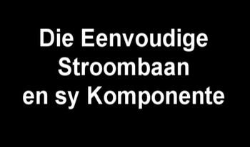 Die Elektriese Stroombaan en sy Komponente