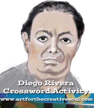 Diego Rivera Crossword Activity