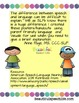 Difference between Speech and Language