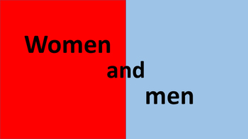 What differences are there between women and men?