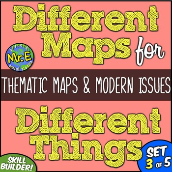 Different Maps for Different Things: Thematic Maps and Mod