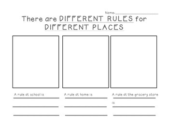 Different Rules for Different Places