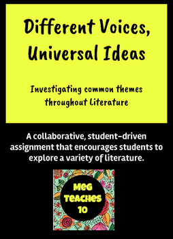 Different Voices, Universal Ideas