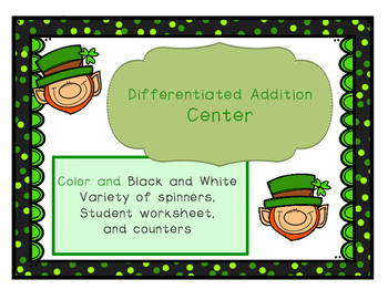 Differentiated Addition Spinners
