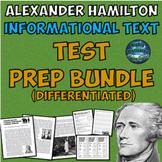 Differentiated Alexander Hamilton ELA Test Prep Bundle wit