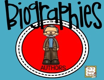 Differentiated Biography Research Children's Authors