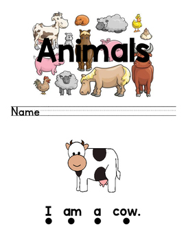 Differentiated Book Animals