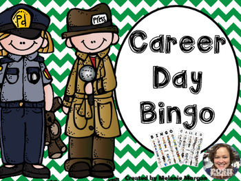 Easy Prep Differentiated Career Day Bingo