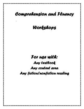 Differentiated Comprehension and Fluency Workshops (centers)