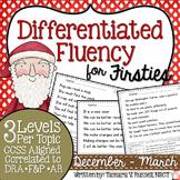 First Grade Fluency {December - March}