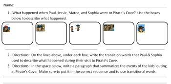 Differentiated Graphic Organizers for Understanding Sequen