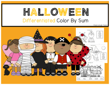 Halloween Differentiated Color By Sum