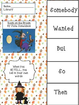 Differentiated Halloween Read-Aloud Activity