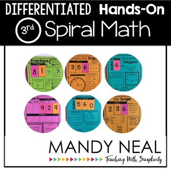Spiral Math Hands-On & Differentiated