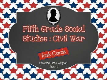 Differentiated History Task Cards {Civil War}