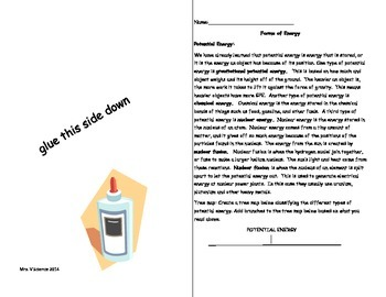 Differentiated ISN Pages: Forms of Energy
