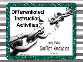 Conflict Resolution - Differentiated Instruction Activities