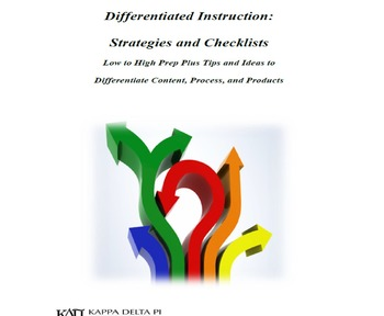 Differentiated Instruction Strategies and Checklists