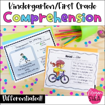 Differentiated Kindergarten/ First Grade Reading Comprehen