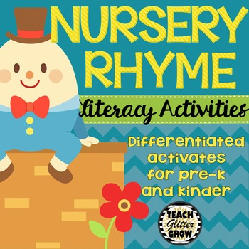 Differentiated Nursery Rhyme Literacy Activities