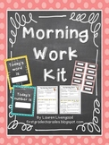 Differentiated Morning Work Kit