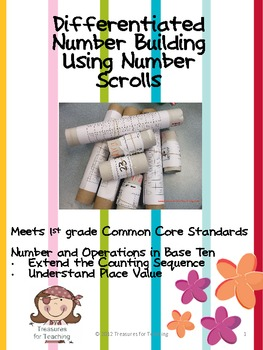 Differentiated Number Building Using Number Scrolls
