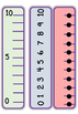Differentiated Number Lines 0-10