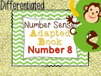 Differentiated Number Sense Adapted Book (Number 8)