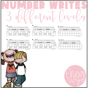 Differentiated Number Writes