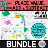 Differentiated Place Value Addition Subtraction Test