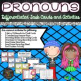 Grammar:  Pronoun Task Cards