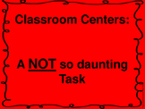 How To Run Differentiated Centers Preview