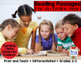 Reading Passages and Differentiated Materials for a Year