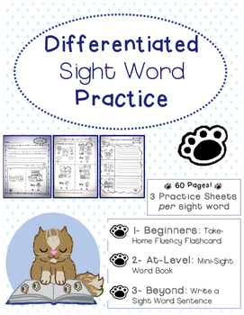 Differentiated Sight Word Practice